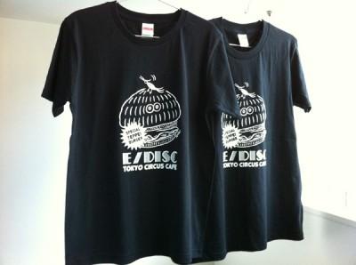 Exhibision:E/DISC  Collaboration T-shirt