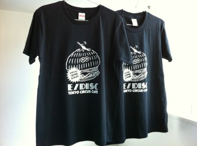Exhibision:E/DISC  Collaboration T-shirt